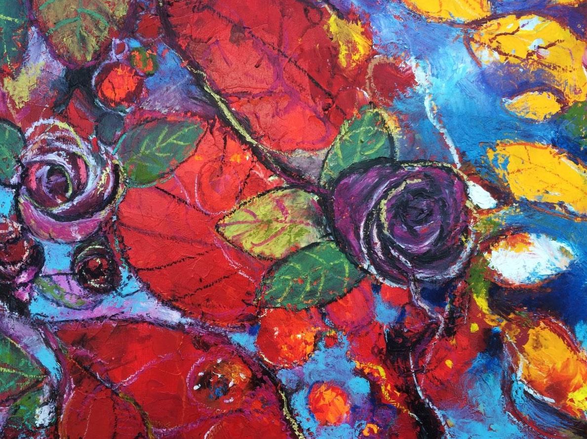 Il giardino delle rose alessandro andreuccetti fine art - Il giardino delle rose ...