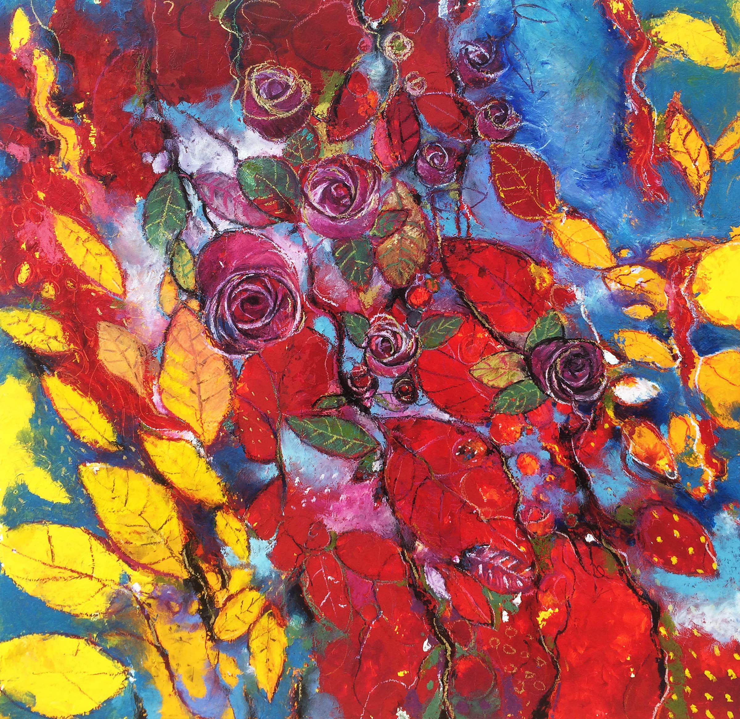Il giardino delle rose alessandro andreuccetti fine art for Il giardini