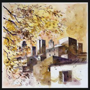 San Gimignano da via XX Settembrep
